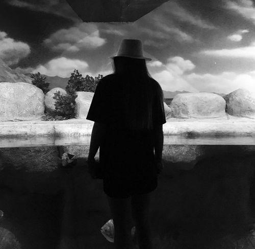 The Week On EyeEm Dark Art Is Everywhere Art Standing One Person Lifestyles Women Alone Photography