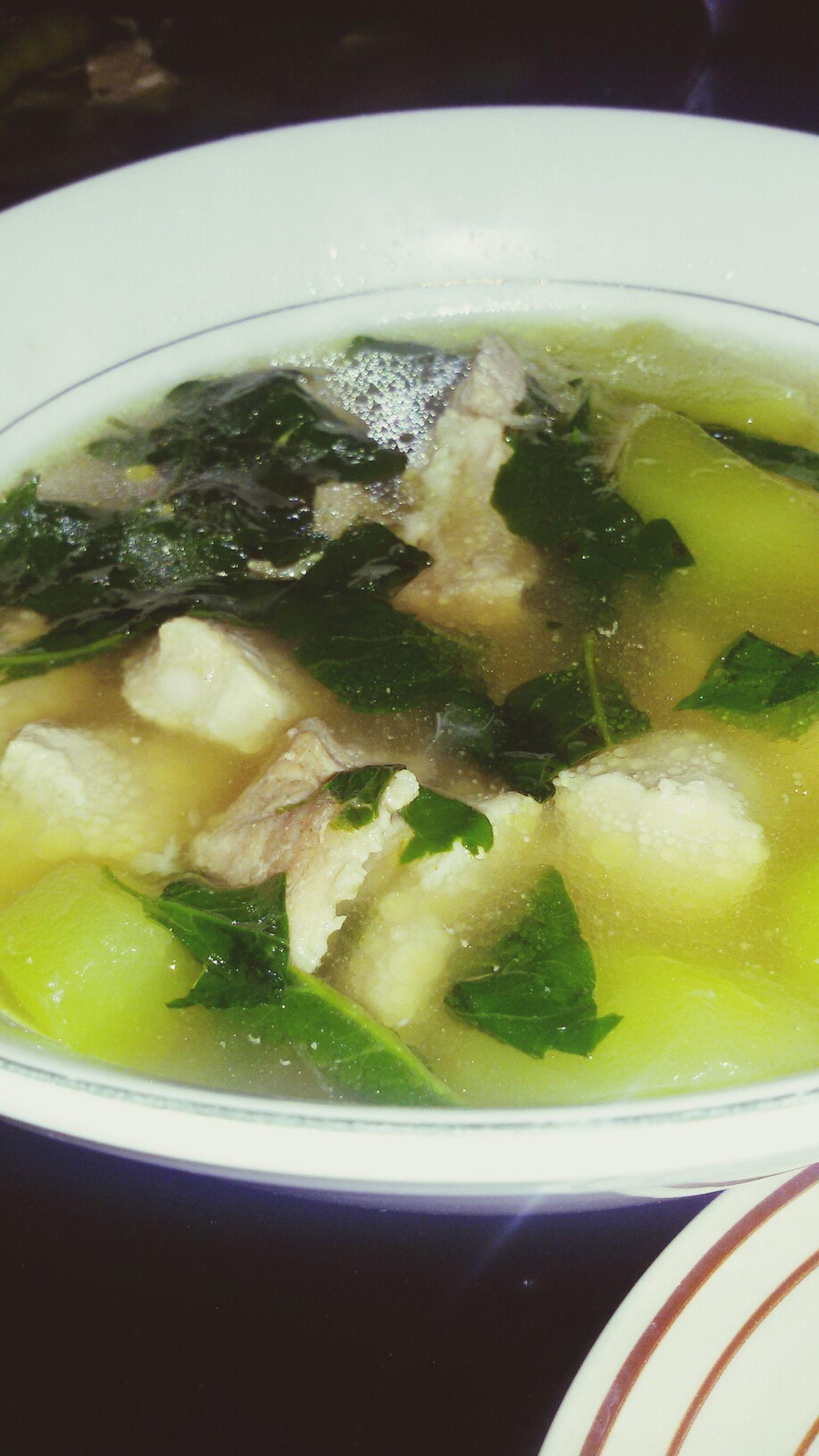 pork tinola! my juno's fave ? Food Is 💕