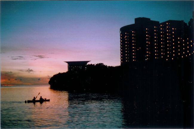 Guahan Guam Beach Photography Sunset 35mm Film Olympus Om10