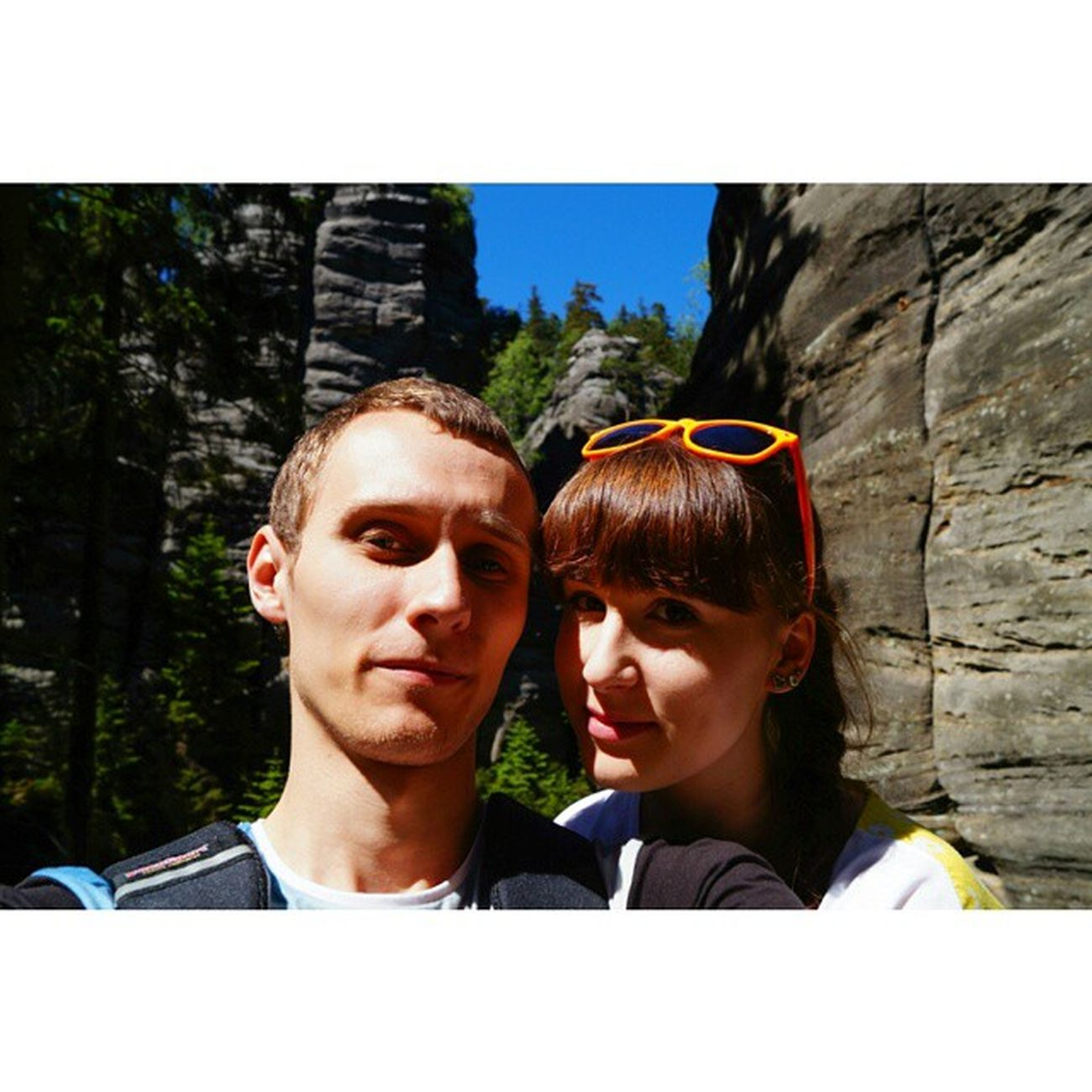 Day 1 - Teplice nad Metuji.Great time and beautiful weather.🌞🌞🌞📷💏 Teplicenadmetuji Teplickie Skały Rocks Skalne Miasto Czechrepublic Czechy Nature Landscape Beautiful Day Weather Sunny Trip Travel With Lovely Boyfriend Mountains Weekend Free Time Pieknie Widoki fantasticviewholidaypolishgirlpolishboycouple