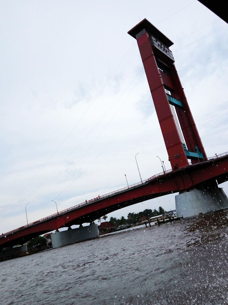 Ampera Bridge, Palembang, Indonesia Sky Cloud - Sky Building Exterior Landscape