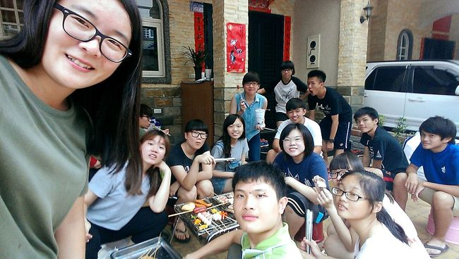 Happymoonfestival Barbeque Friends