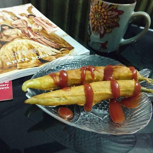 Snacks Chillibhaji Instafood