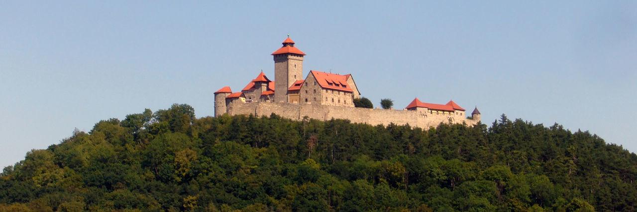 Wachsenburg - eine der Burgen der Drei Gleichen Beauty In Nature Burg Drei Gleichen Nature No People Outdoors Sky Sky And Clouds Sonnenuntergang Tranquility Tree Wachsenburg