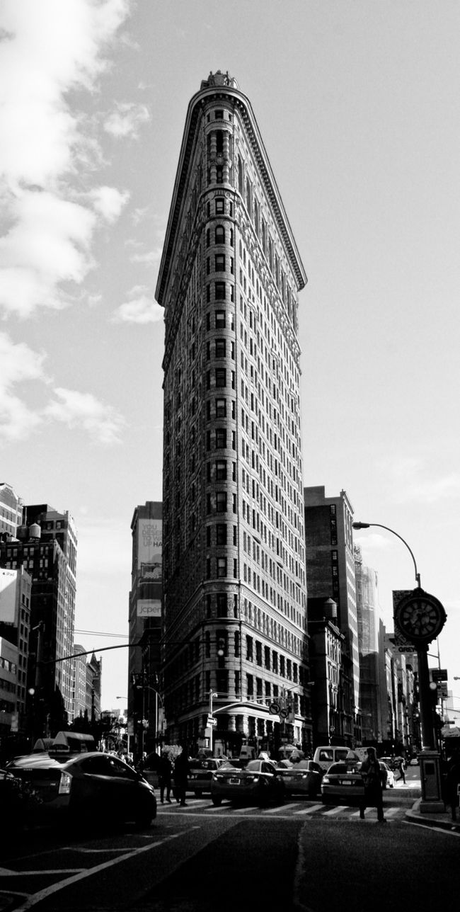 The Flat Iron at NYC