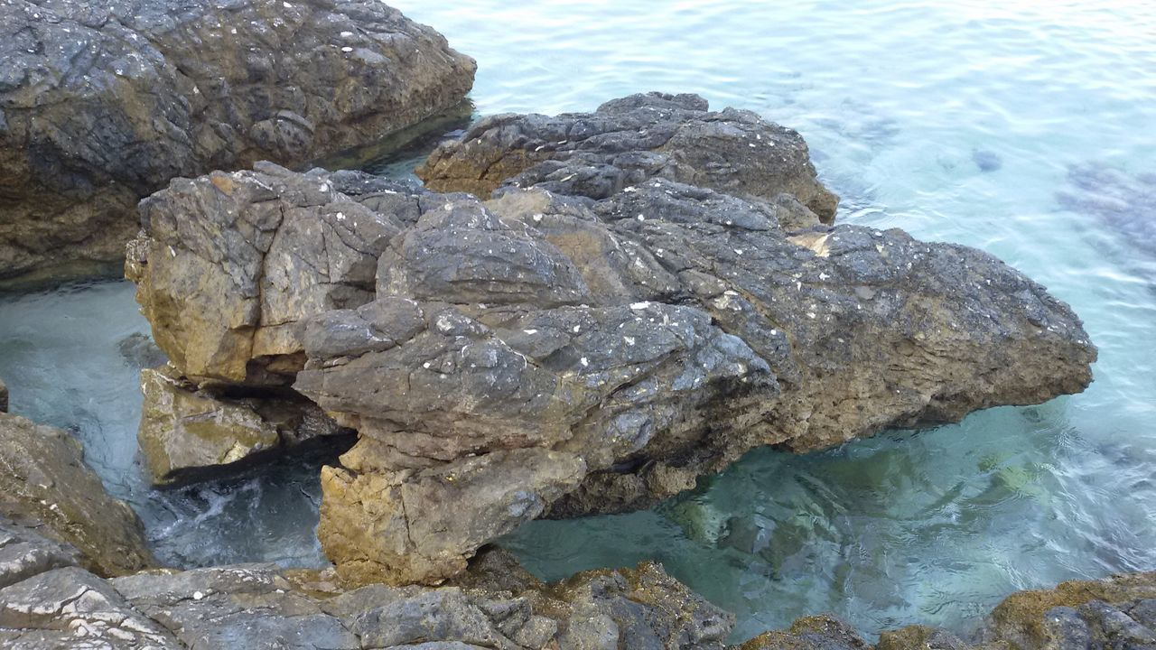 Water Sea Beauty In Nature Greece, Thasos Rocky