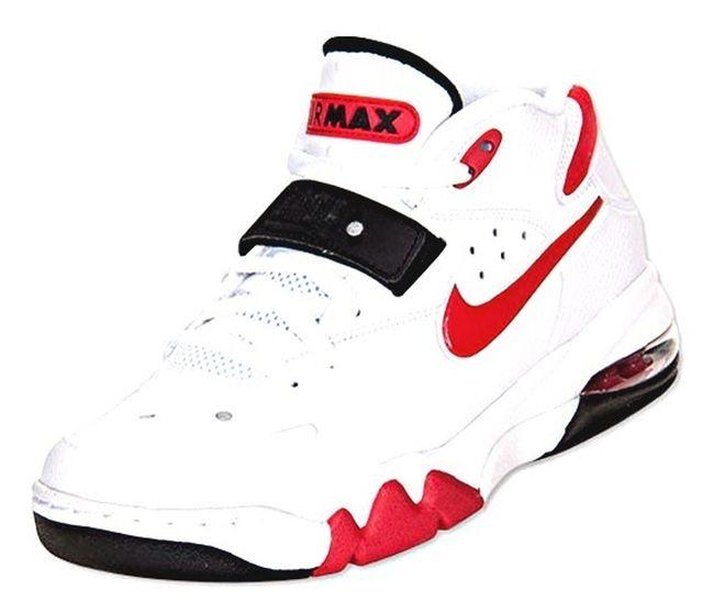 Nike Air Force Max 2013 – White / University Red – Black