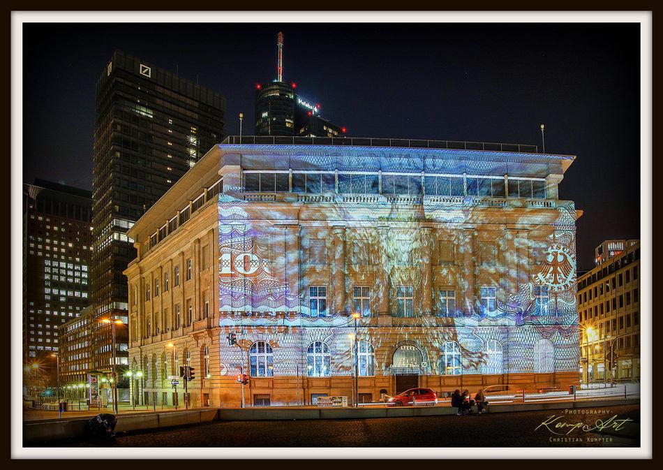 Building Exterior City No People Architecture Built Structure Illuminated Outdoors Night Sky Luminale 2016 Dm Deutsche Mark