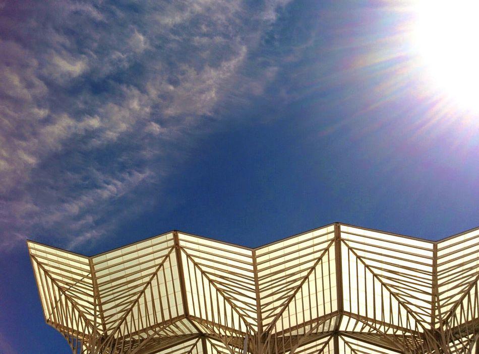 Any given monday. Garedooriente Lisboa Train Station The Architect - 2015 EyeEm Awards