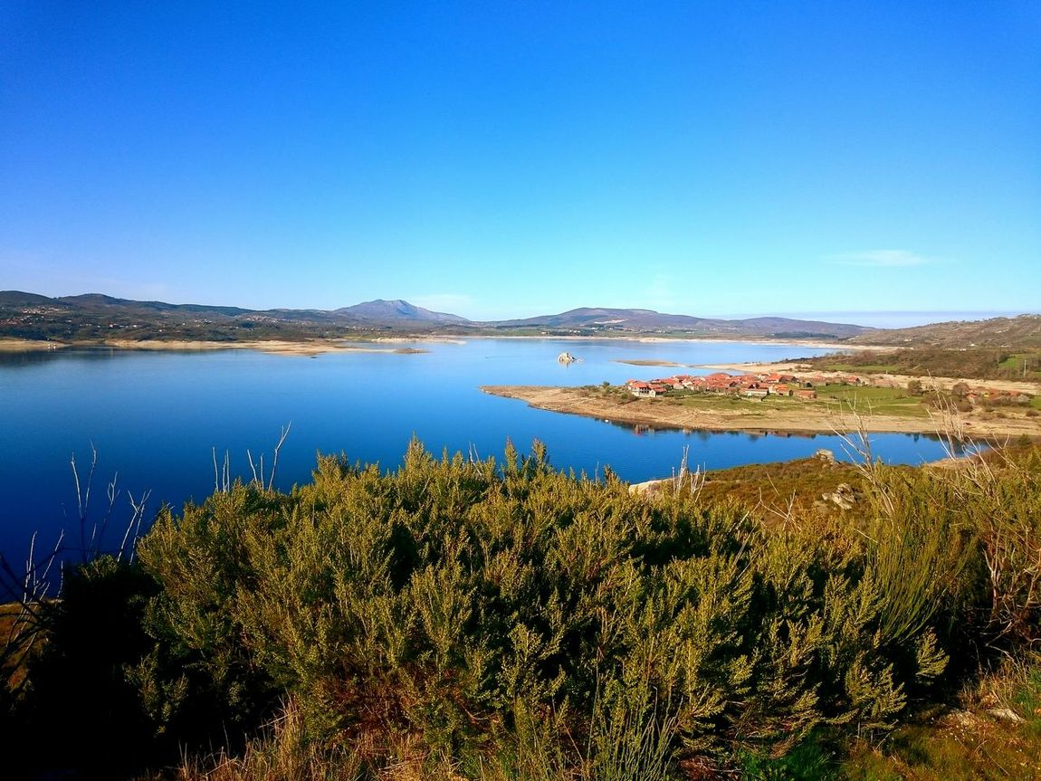 Paradise exists in Portugal, Vilarinho de Negrões village, Montalegre Blue Clear Sky Reflection Sky Lake Nature Scenics Water No People Outdoors Day Village Historic Vilarinho De Negrões Montalegre The Great Outdoors - 2017 EyeEm Awards The Week On EyeEm