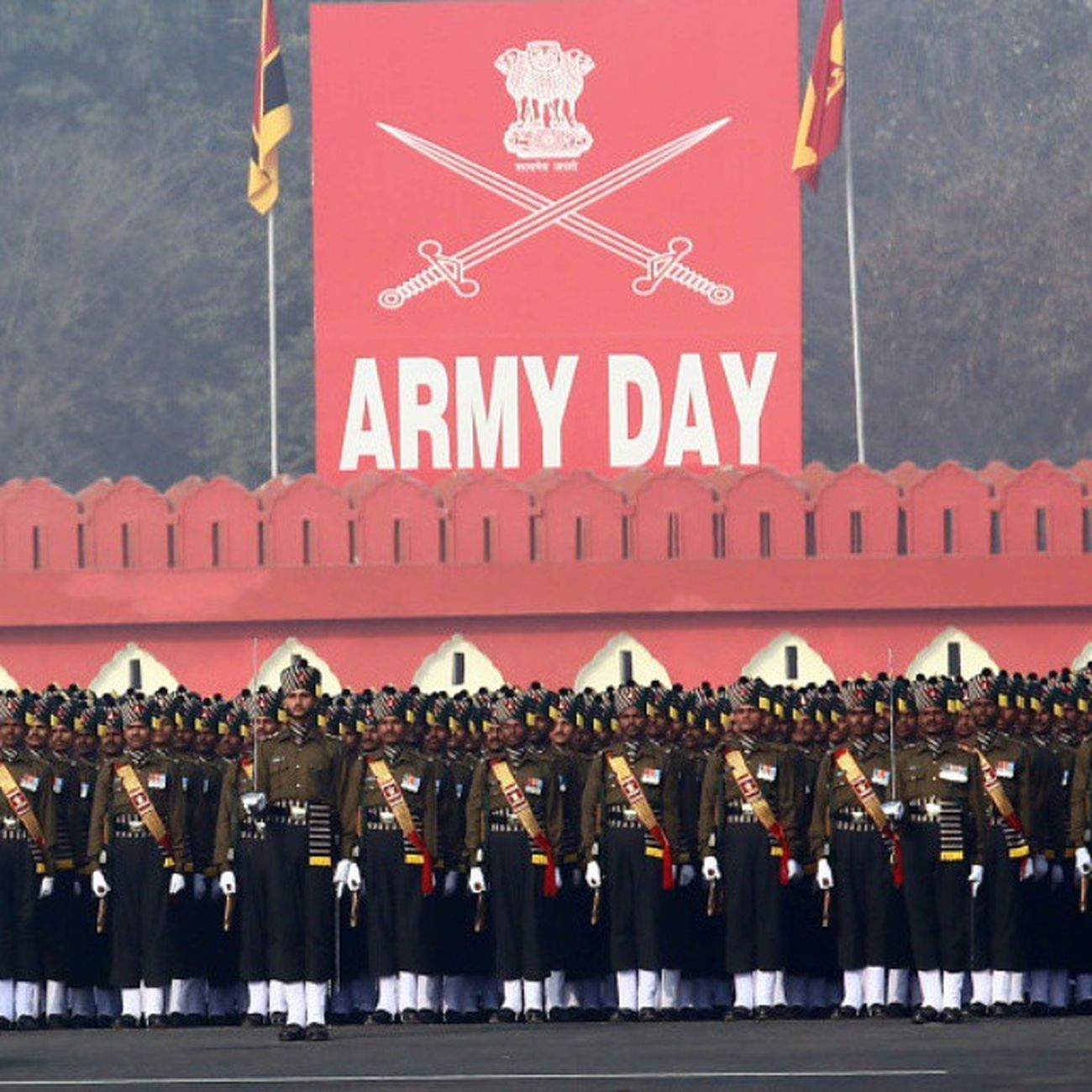 Armyday The big salutes to all soldiers and army's candidates for 67th ArmyDay2015 . It's honored and privileged for our country.