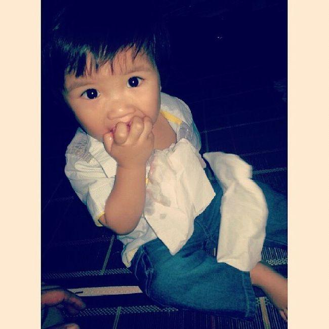 Baby Babyfood Messybaby Cutebaby chineselook instamood