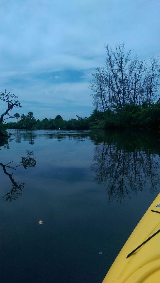 Robbinson Preserve Kayaking Enjoying Nature