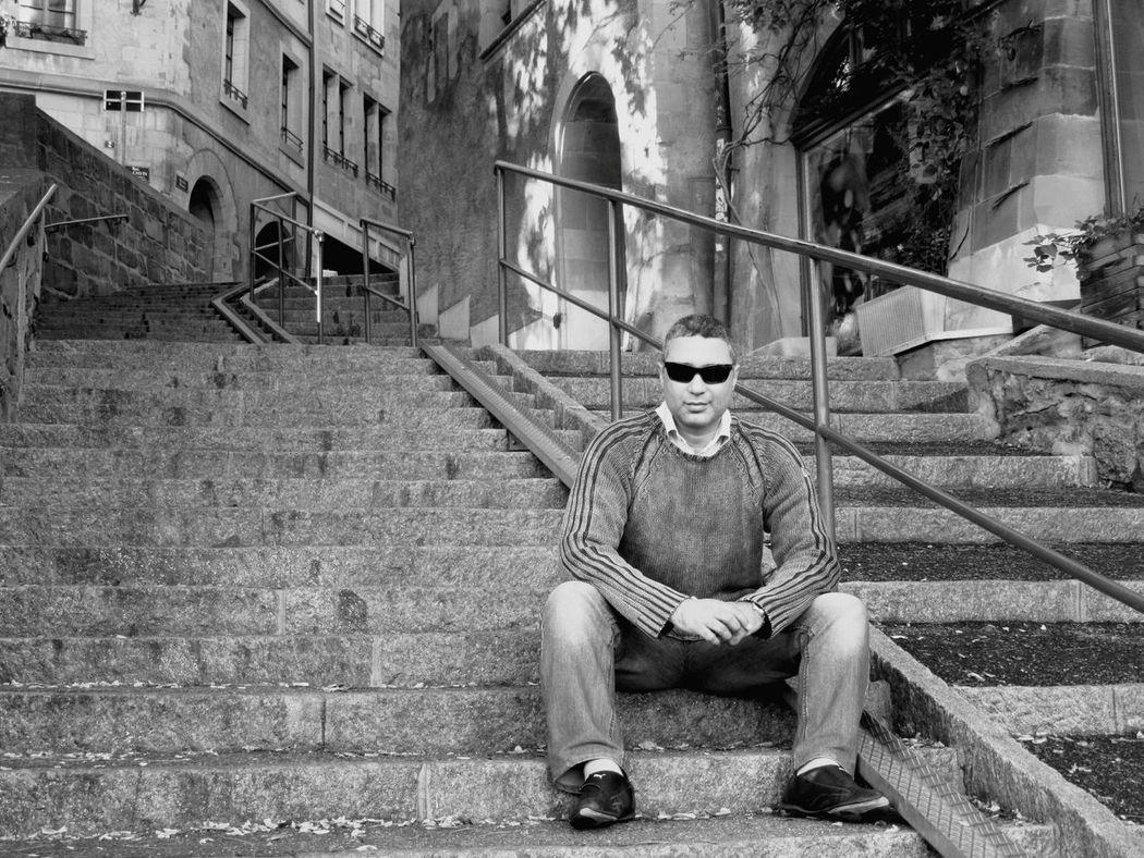Open Edit Holiday Traveling Frist Time On EyeEm Hot Photography Geneva Switzerland Selfie Black & White