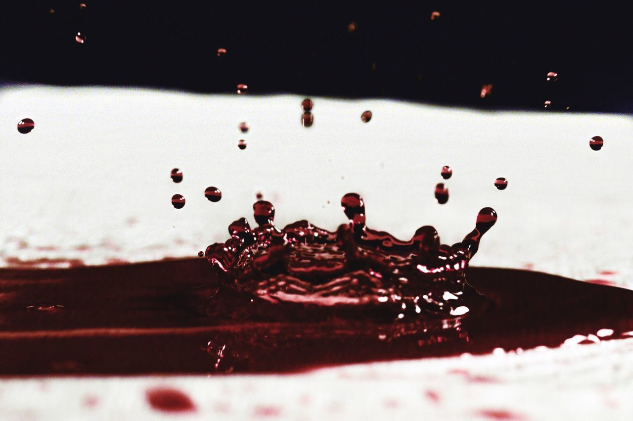 Red wine 🍷 Drop Water Close-up No People Outdoors Freshness Day Red Wine Wine Drop Wine Drops Droplet Spill White Background Beverage Blood Red Detail Crisp Texture Reflection