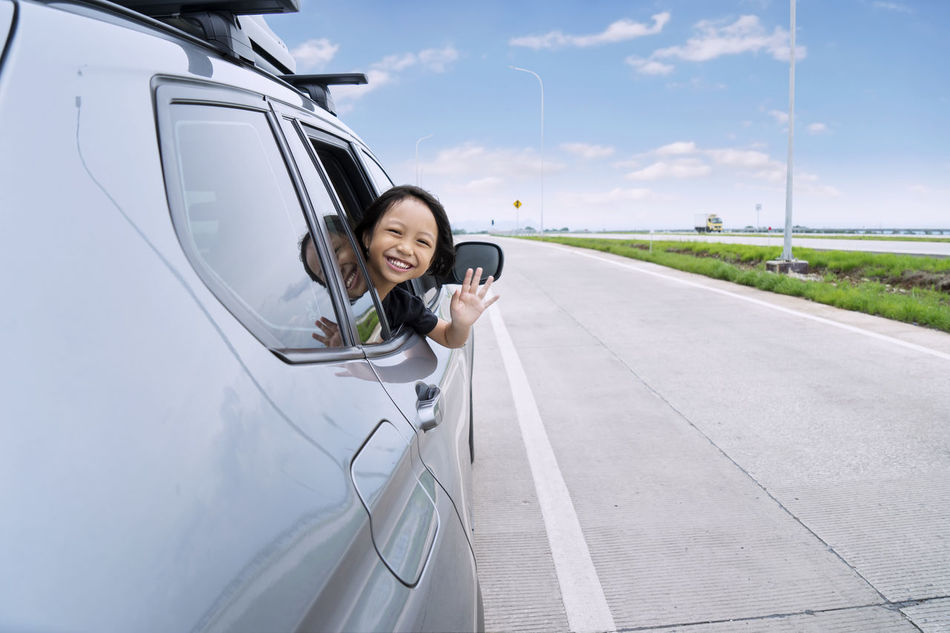 Beautiful stock photos of familien,  6-7 Years,  Adult,  Adults Only,  Car