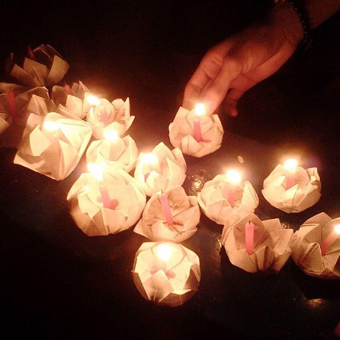 Lanterns Happymoonfestival Mướn đò đi thả đèn mà thả cái nào tắt cái đó. Bực :)) Lanternsonthelake Trungthu candles lights papers VietNamfestival night instagood instalike instafollow instapic instaphoto instalights