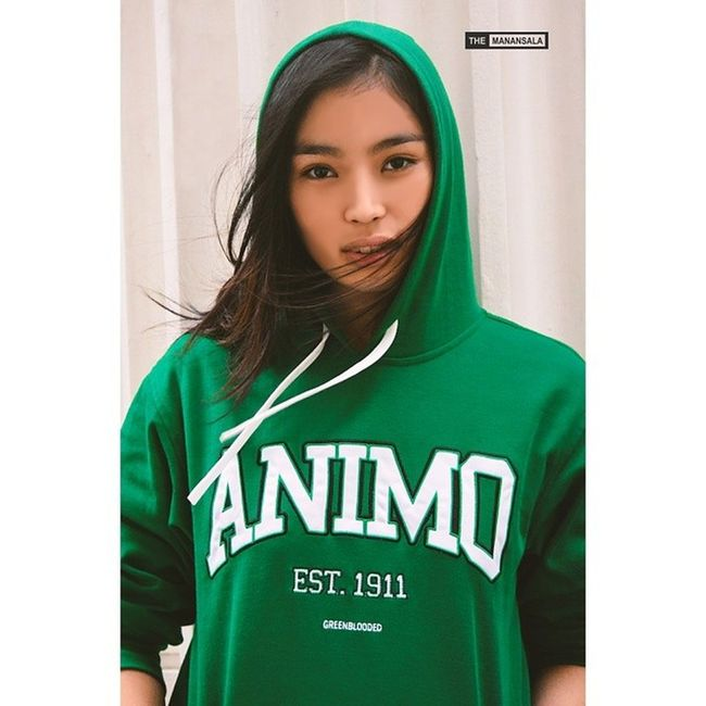 Fierce Ina Ongsiako @inaongsiako in @greenbloodedts hoodie ? . . . Greenbloodedts Topmodels Themanansala