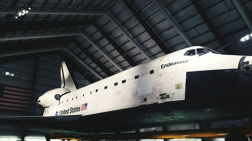 Up up and away Space Shuttle Endeavour Science Museum  Los Angeles, California Epic Bigger Than You Think Up In Space Marvin The Martian  Black And White USA Flying High Speed Of Light Man Made Astronaut Space Adventure Blast Off