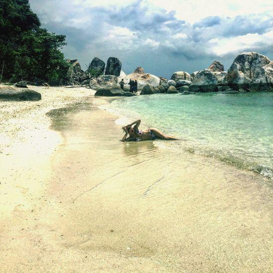 Malaysia Pangkor Island Seascape Sea And Sky Seamood Wonderful Nature