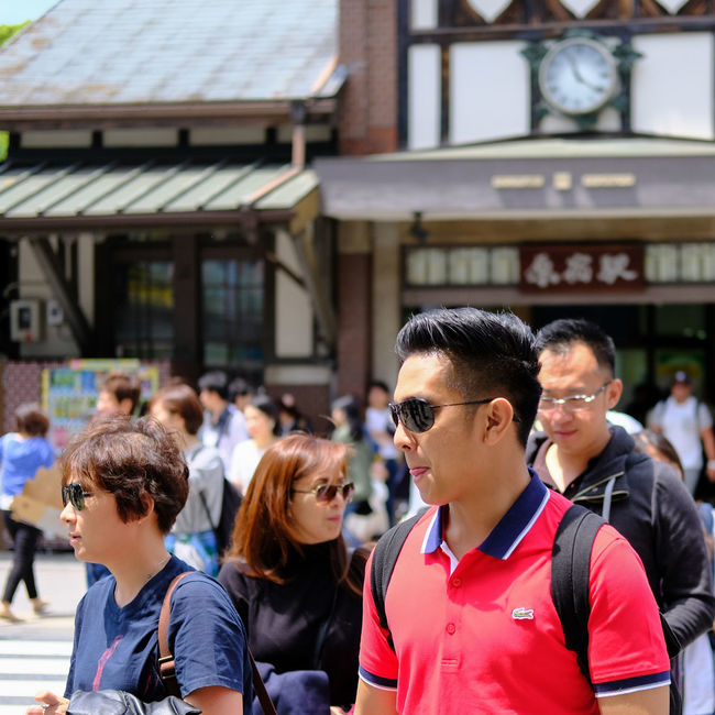 Casual Clothing City City Life Cool Guy Crosswalk Crowd Day Enjoyment Focus On Foreground Fujifilm Fujifilm_xseries Fun Harajuku Harajuku Station Headshot Leisure Activity Lifestyles Outdoors Selective Focus Street Photography Streetphotography Tourist X-PRO2 Xf35mmf2 The Portraitist - 2016 EyeEm Awards