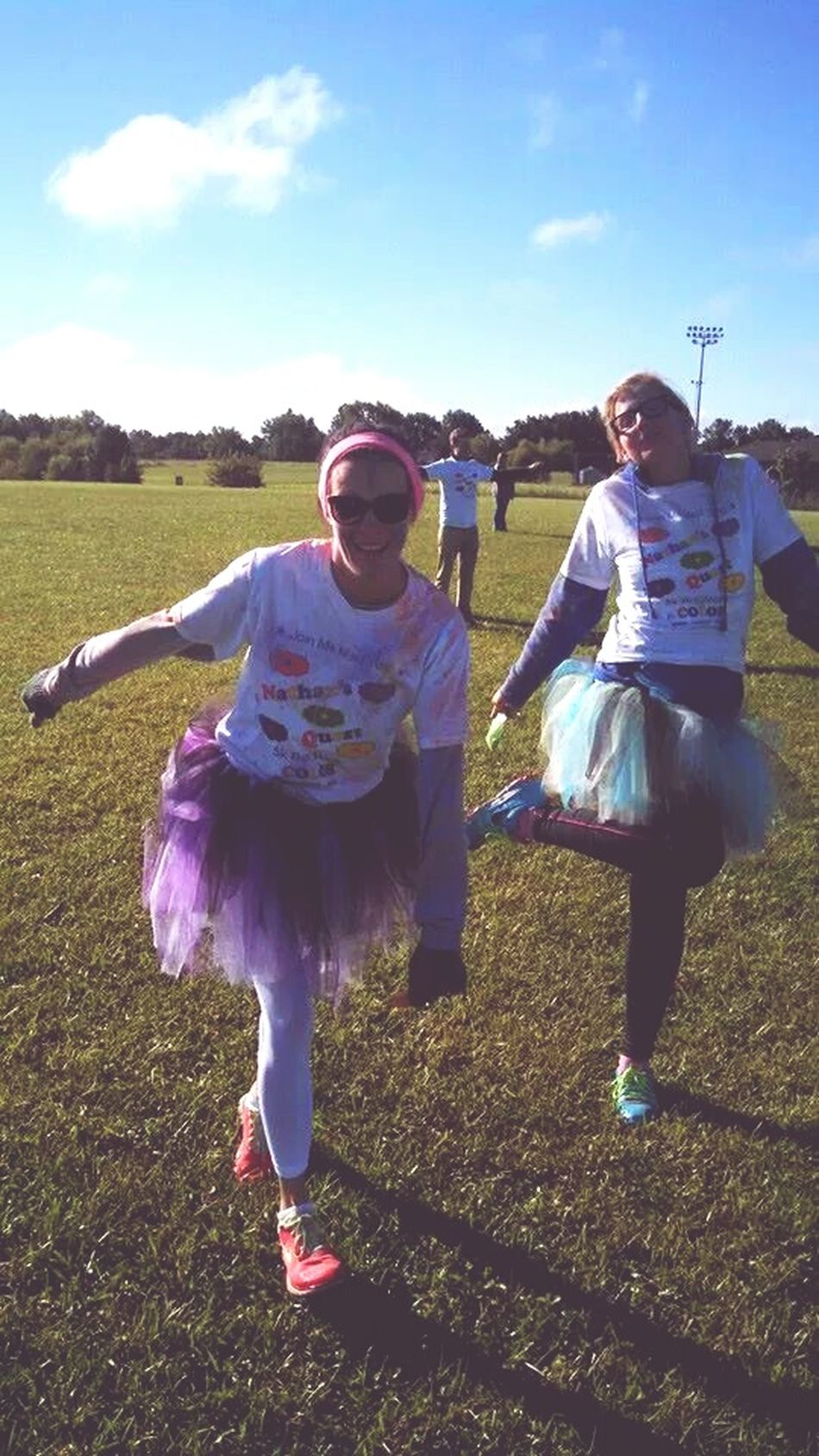 Color run First Eyeem Photo Fun Silly Girls Buds❤ Its Really Cold 5k Stfu Your Only As Old As You Behave