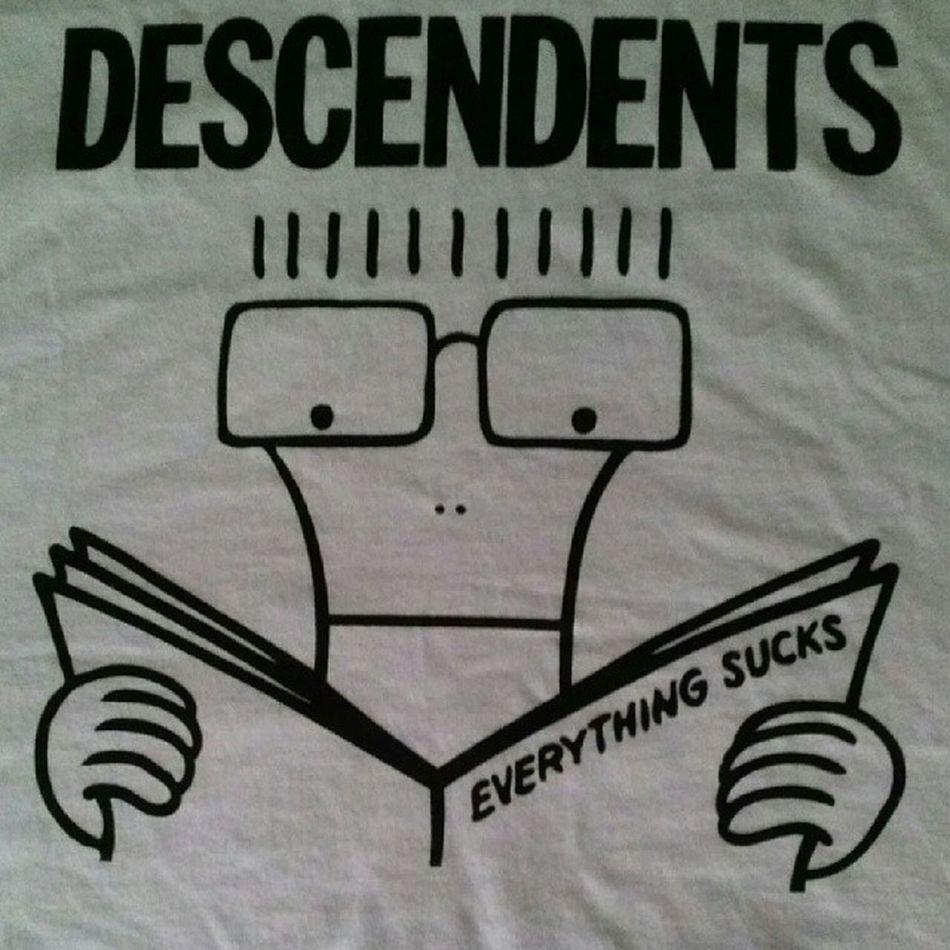 New shirt. Descendents EverythingSucks