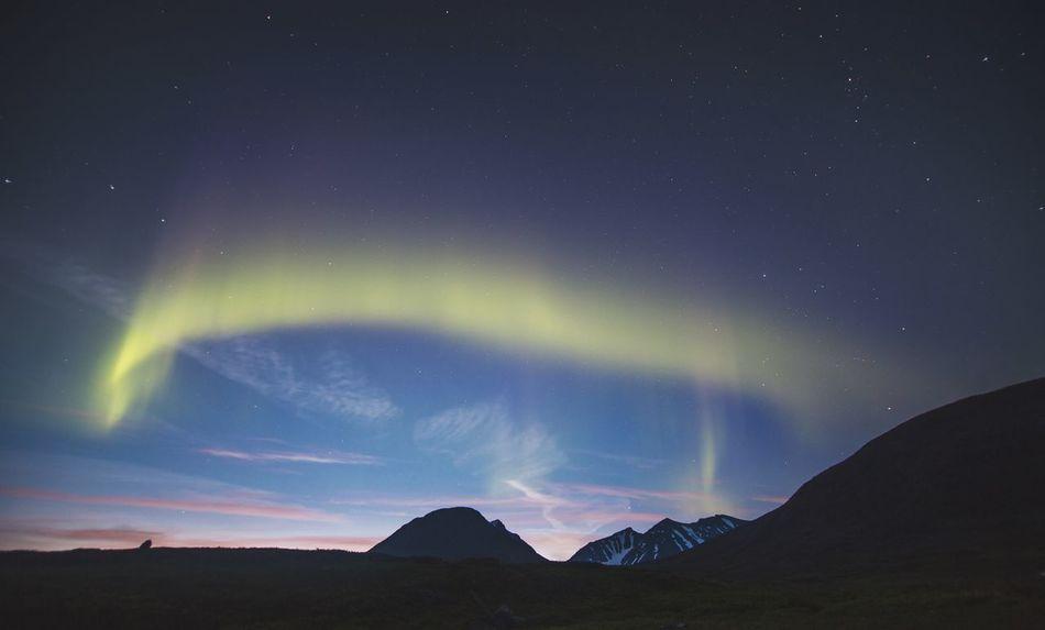 Beautiful stock photos of sweden, Aurora Borealis, Beauty In Nature, Idyllic, Landscape
