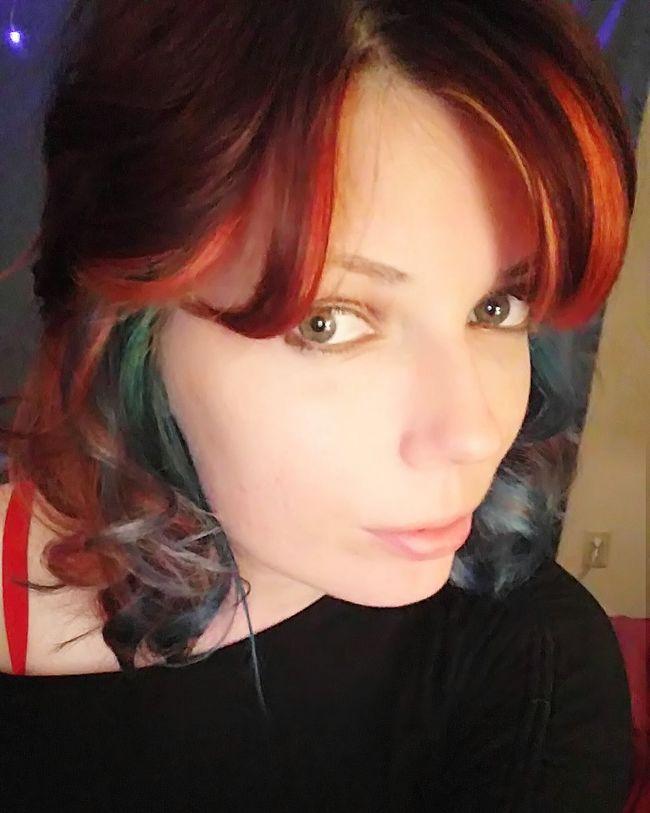 Selfie ✌ Rainbow Hair