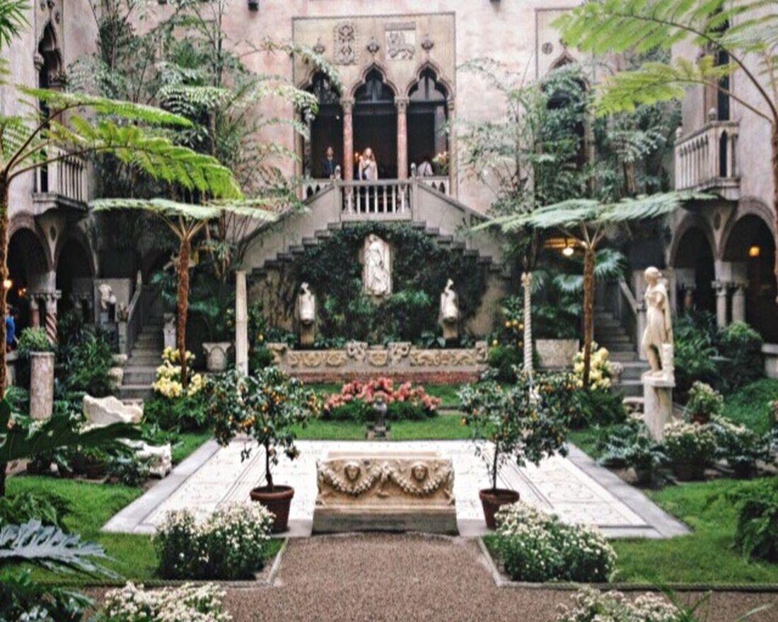 My Favorite Place Isabella Stuart Gardner Museum Plant Flower Museum Art Architecture Courtyard