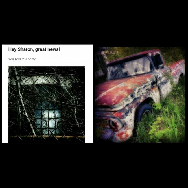 Hello all. I just wanted to share that my creepy window pic sold to Getty Images thru the EyeEm Market! Also, during my art exhibit down in Virginia, my favorite rusty truck pic sold. Great news for sure! So be encouraged if you are passionate about your art. You have great talent and with hard work and determination, you too can take your art to the next level. -- One Love...One Heart ❤✌ Gettyimages Gettyimagesgallery Artexhibition Art Exhibition Art Show EyeEm Gallery EyeEm Getty Collection
