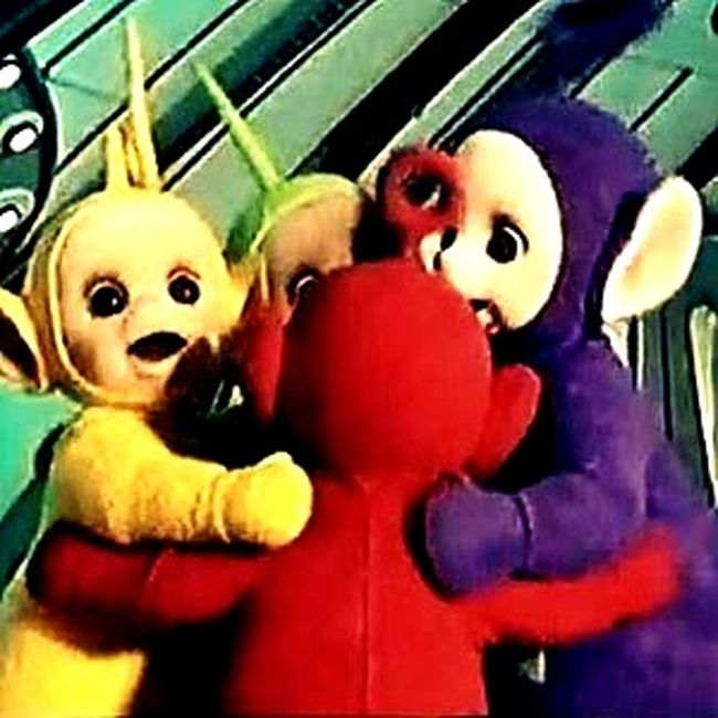 Teletubbies Taking Photos Check This Out First Eyeem Photo Hello World Having The Best Time Teletubbies