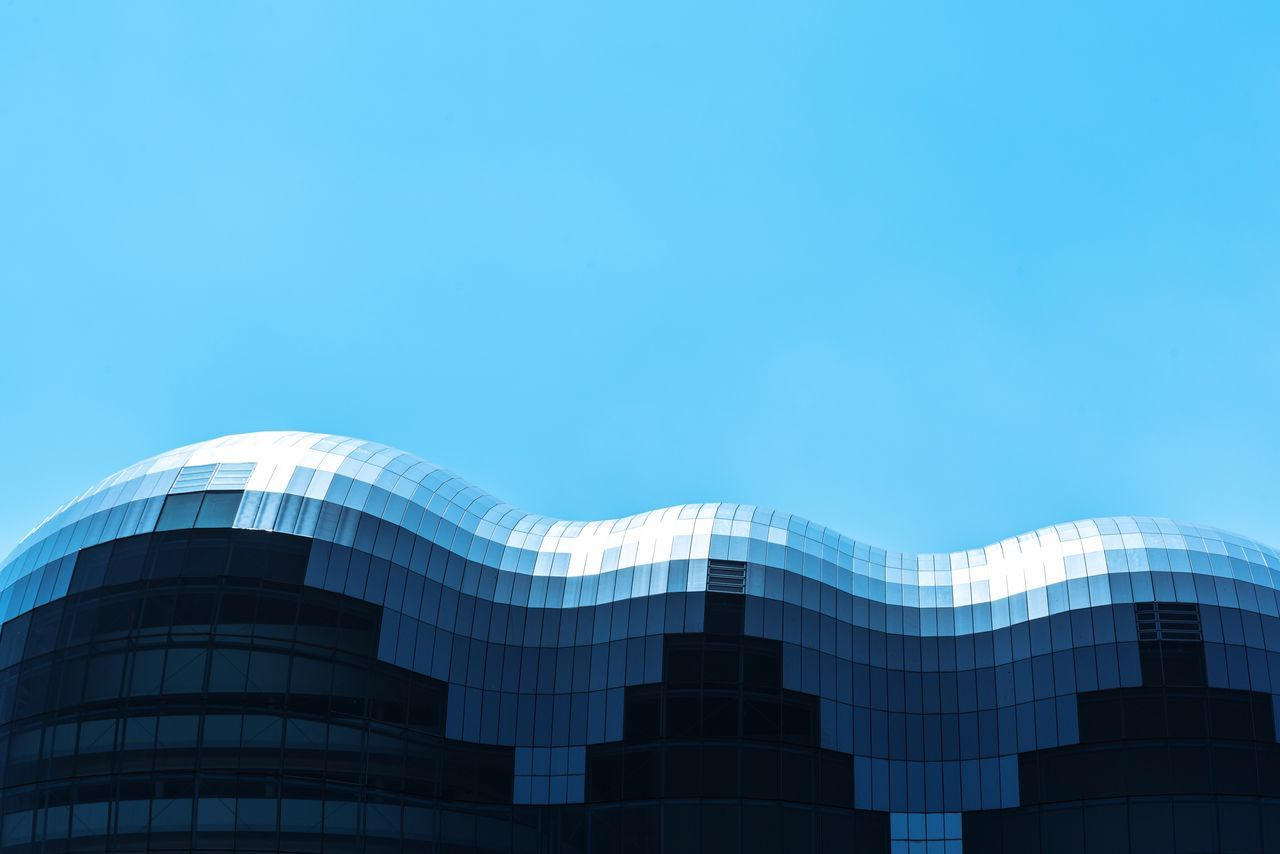 The Architect - 2017 EyeEm Awards Thesagegateshead Architecture Built Structure Modern Building Exterior Skyscraper No People Day City Blue Outdoors Travel Destinations Clear Sky Low Angle View Sky EyeEm Gallery Like Likeit
