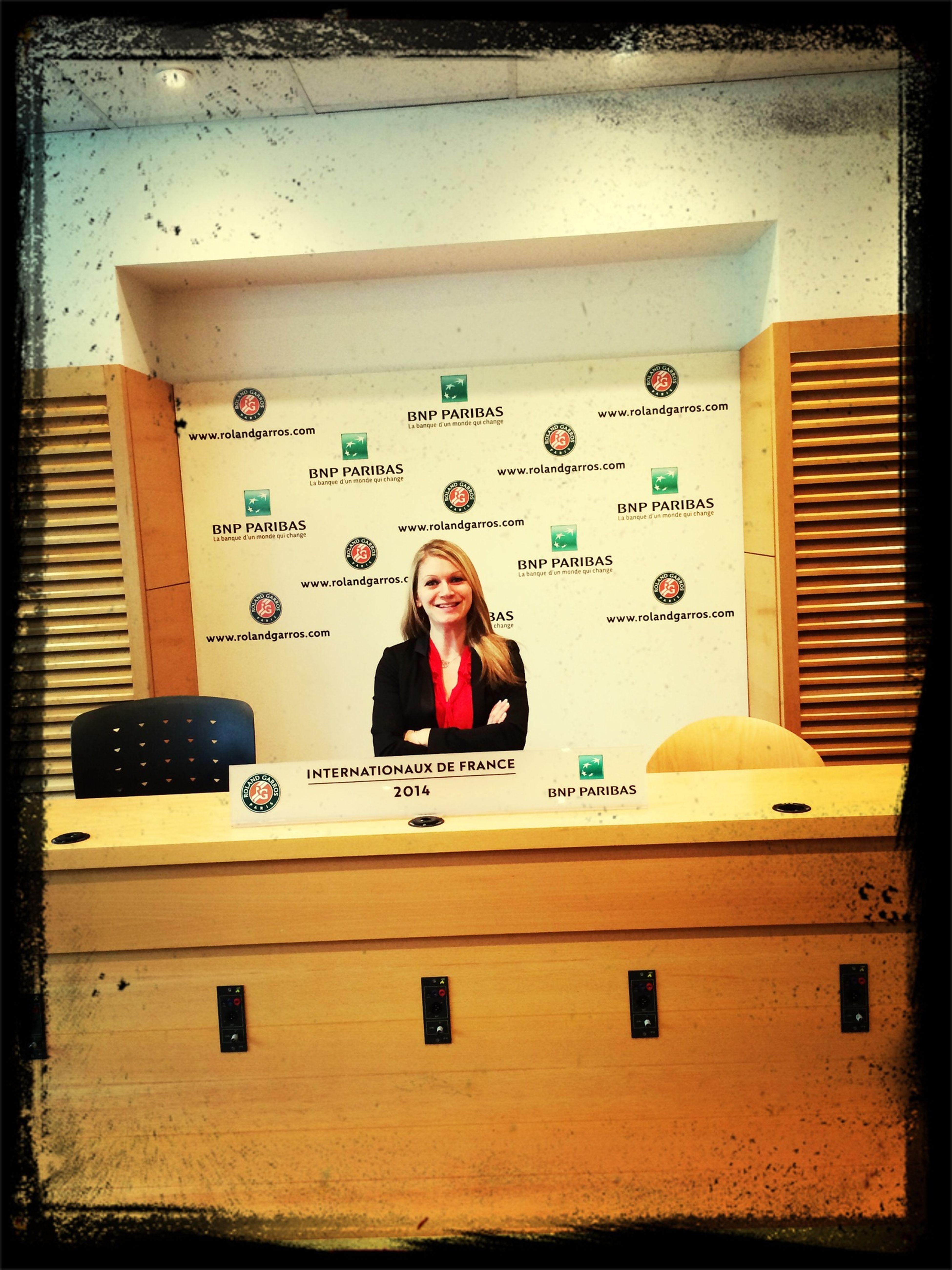 Roland Garros comme à la maison ^^