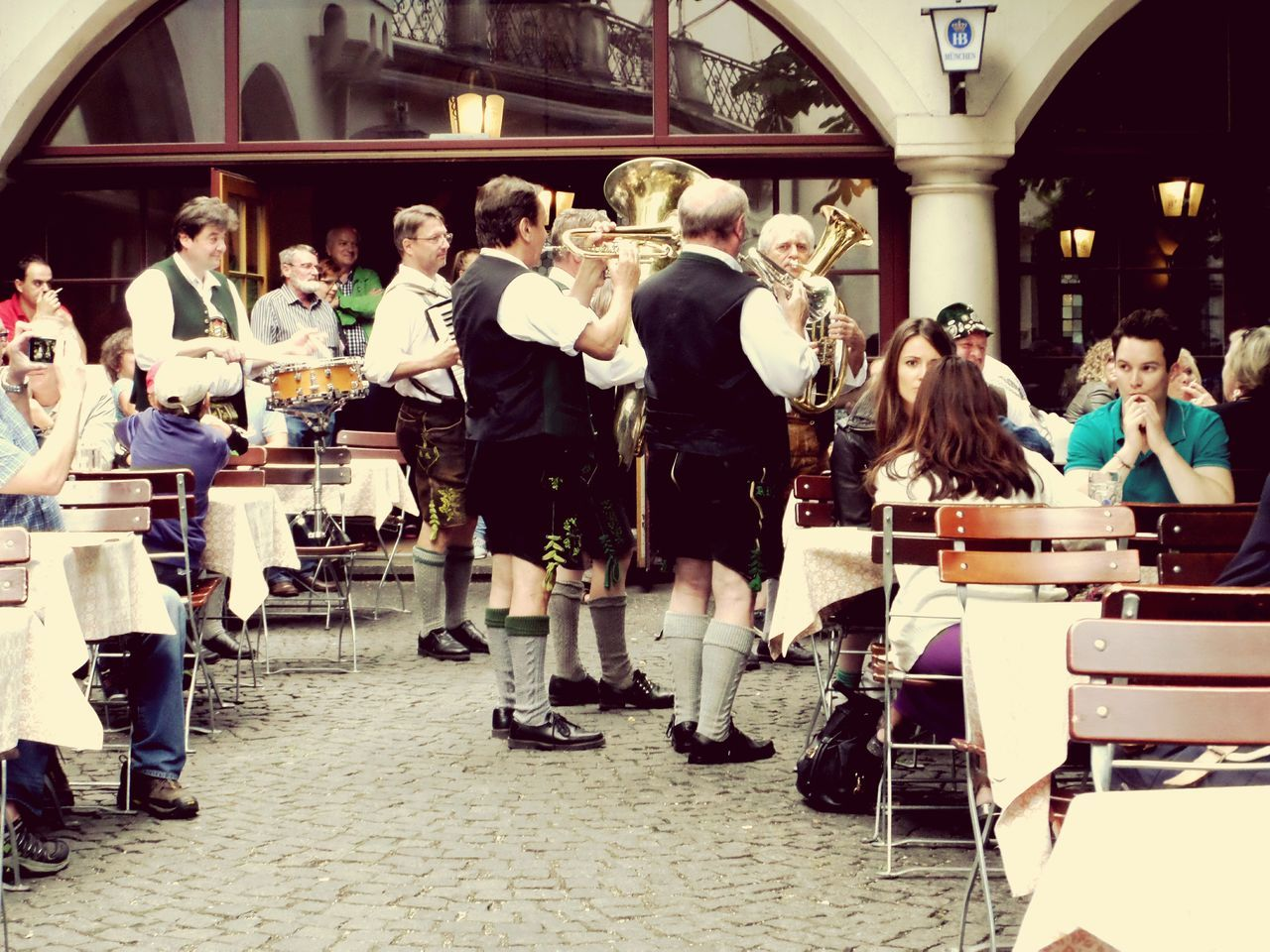 EyeEm Five Senses Hearing Music Hearing The Word Music Musicians Munich Talented Musical Instruments Talent TALENTED PEOPLE Band Talentovintage Vacation Enjoying Life Enjoying A Meal Senses Sense Of Place SensExperiencE NYC Photography EyeEm NYC Eyem Munich Germany Bavaria Bavarian Tradition Bavarian