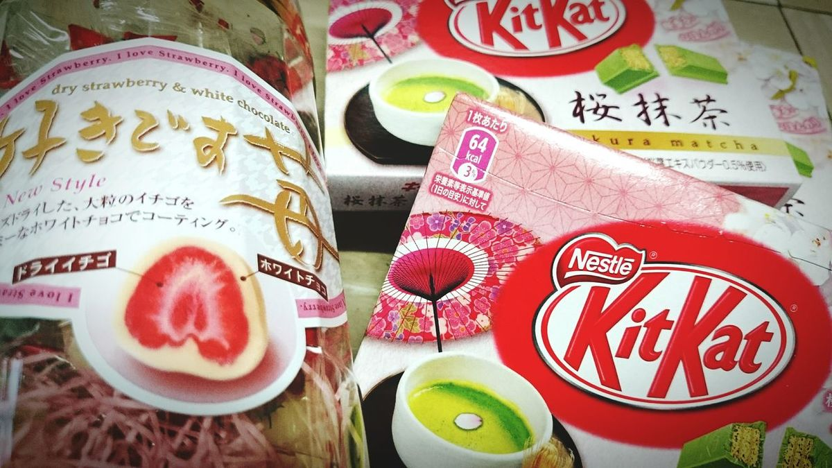 Japanese Food Snacks In My Mouf Thank You Sweets Mutcha Strawberry