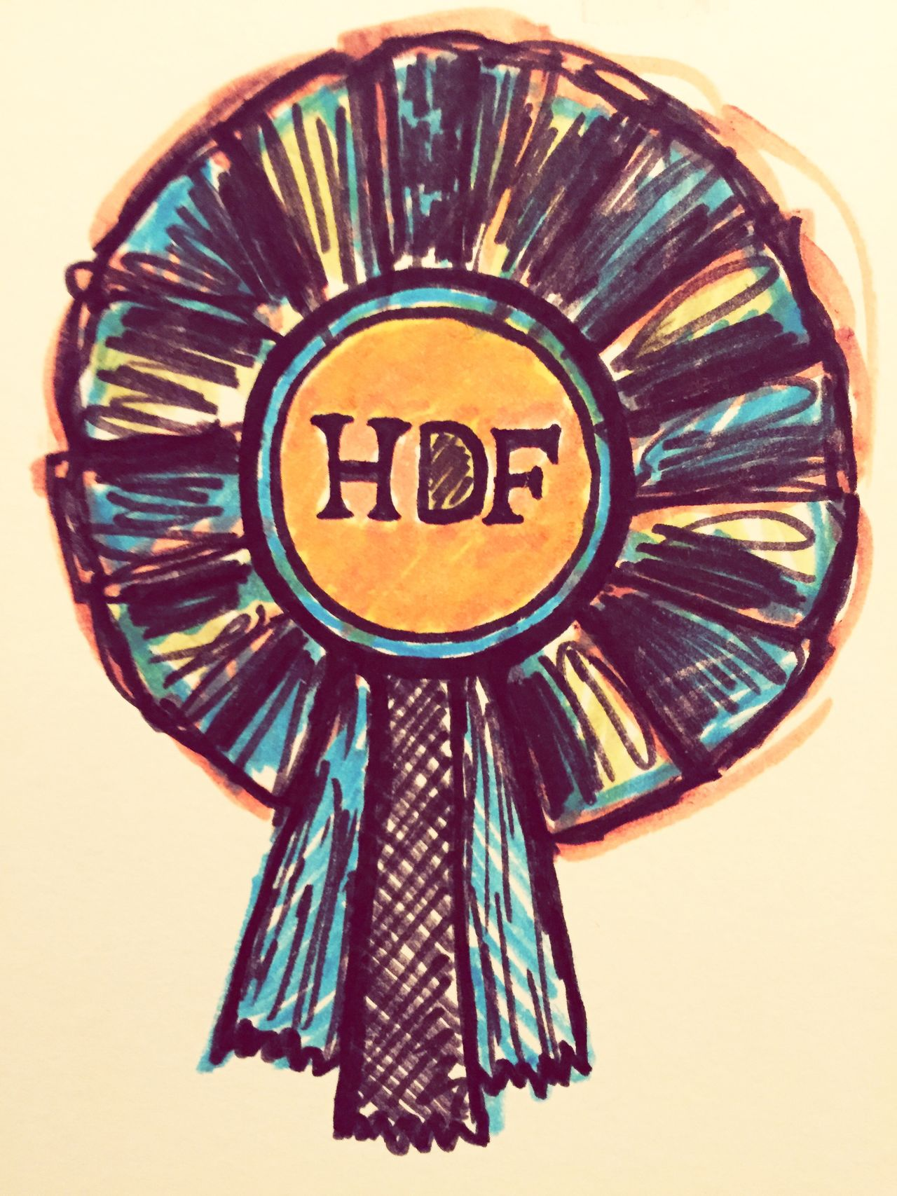 Hdf Haltdiefresse Drawing Pencil Pencil Drawing Colors Art ArtWork Badge Horse