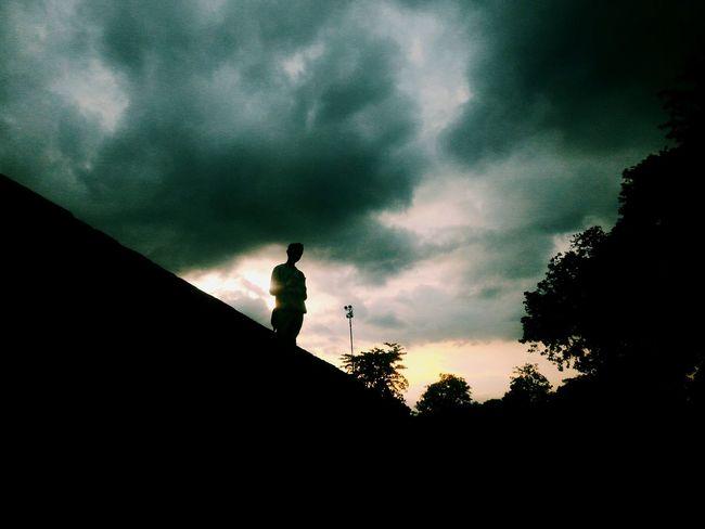 Sunset Loneliness
