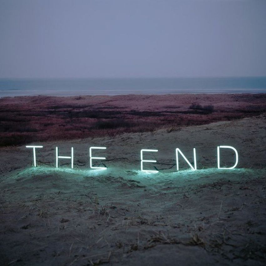 Theend The End конец