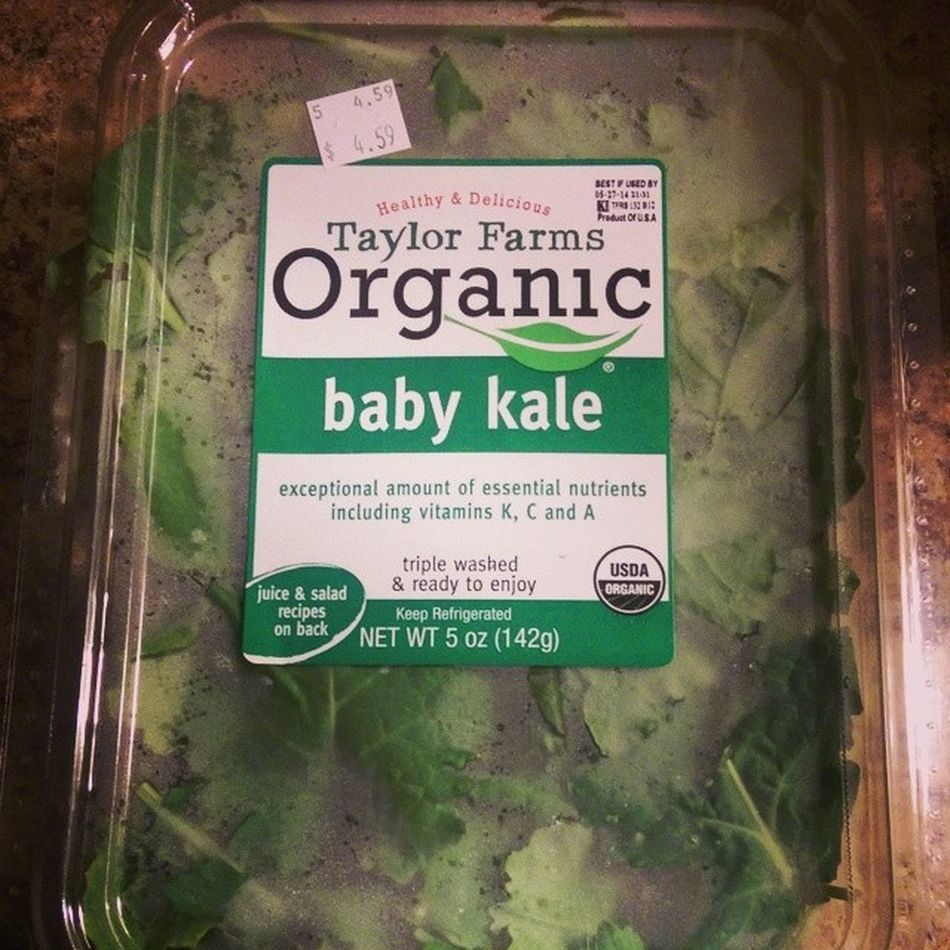 Taylorfarms Babykale Organic