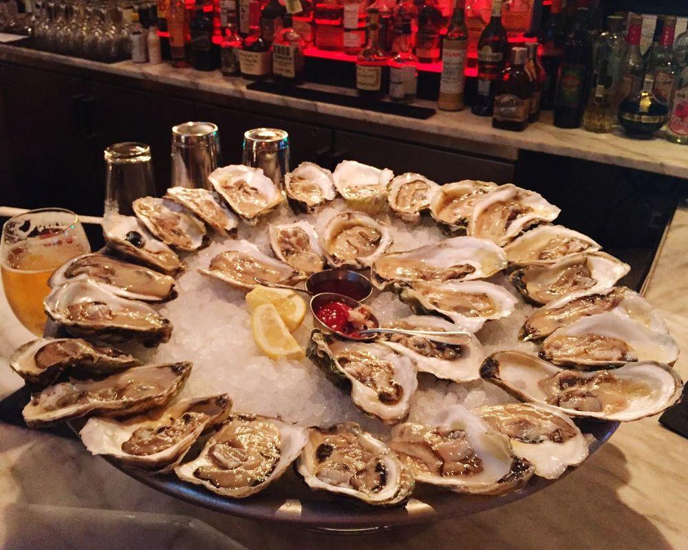 Oyster  Bon Appetit Fresh Seafood Lotti On Tour