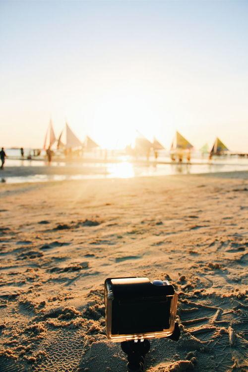 Timelapse-ing Gopro Goprohero4 Boracay Island  Sunset