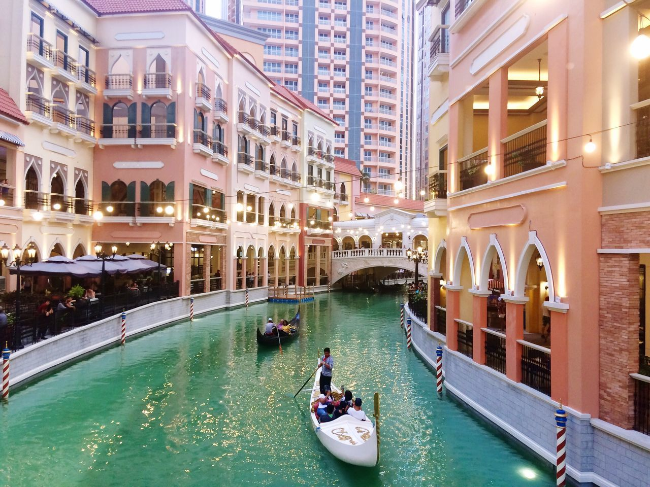 Makati City, Philippines Arts Culture And Entertainment Travel Destinations Vacay Tourism Luxury Philippines Venice Architecture Lookalike Gondola - Traditional Boat Gondolier Canal City Nautical Vessel Adventure Romance Family Time Building Exterior Italy