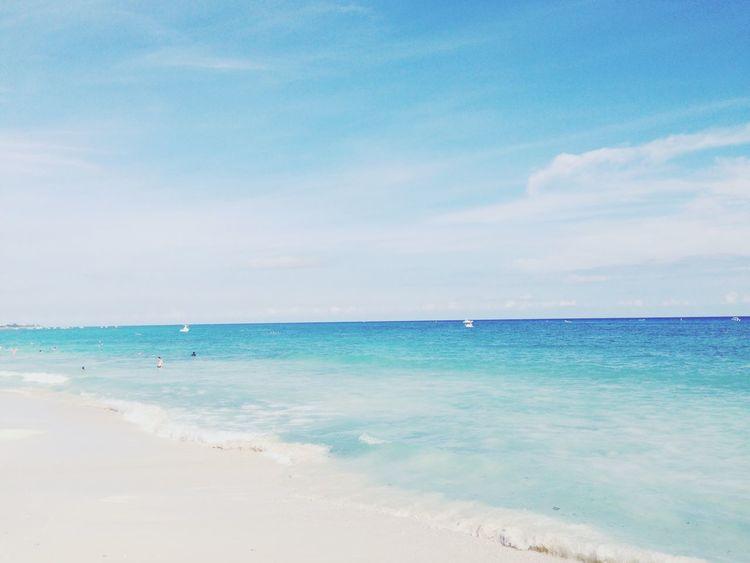 Beautiful place Playadelcarmen Beautiful Hello World Enjoying Life Riviera Maya Nature Deceptively Simple My Best Photo 2015 Landscapes With WhiteWall Blue Wave