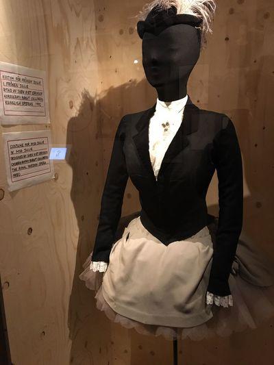 Costume for Miss Julie, The Royal Swedish Opera(1950). Dansmuseet Dance Dance Costume Clothing Opera Singer Opéra Dance Museum Museet Choreography