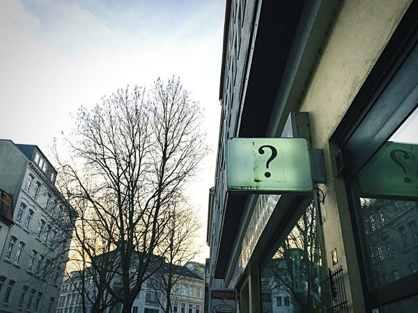 If you don't know what to Sell why not sell Questions ? Streetphotography Urban Landscape Urbanexploration Urban Art Communication Signs The Shop Around The Corner