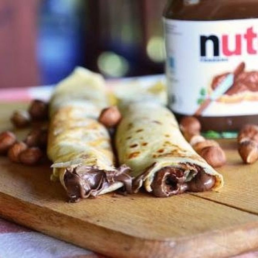 Geez im craving for this.. Nocheating Crave Nutella Icantastethatalready omg food want