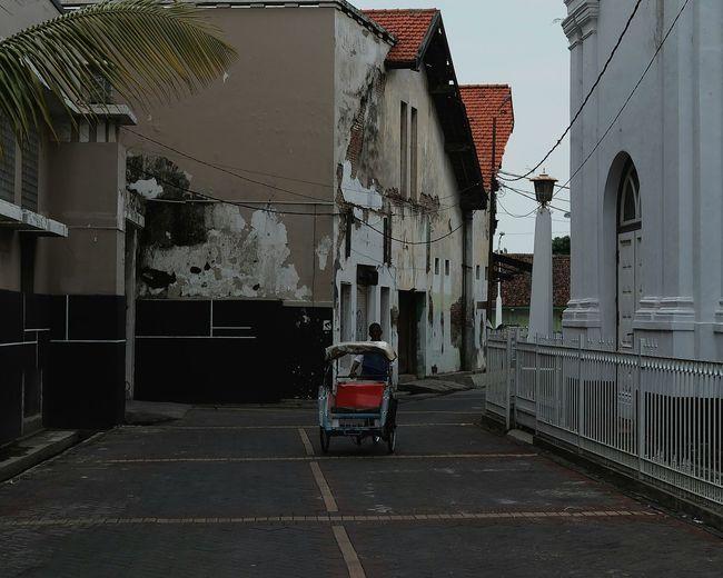 Architecture Built Structure Outdoors Building Exterior Day City Becak Semarang