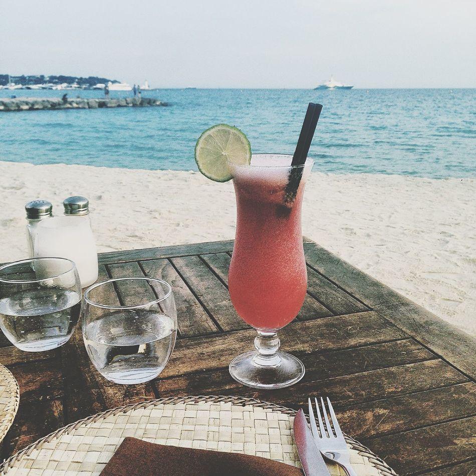 Plage Restaurant Côte D'Azur