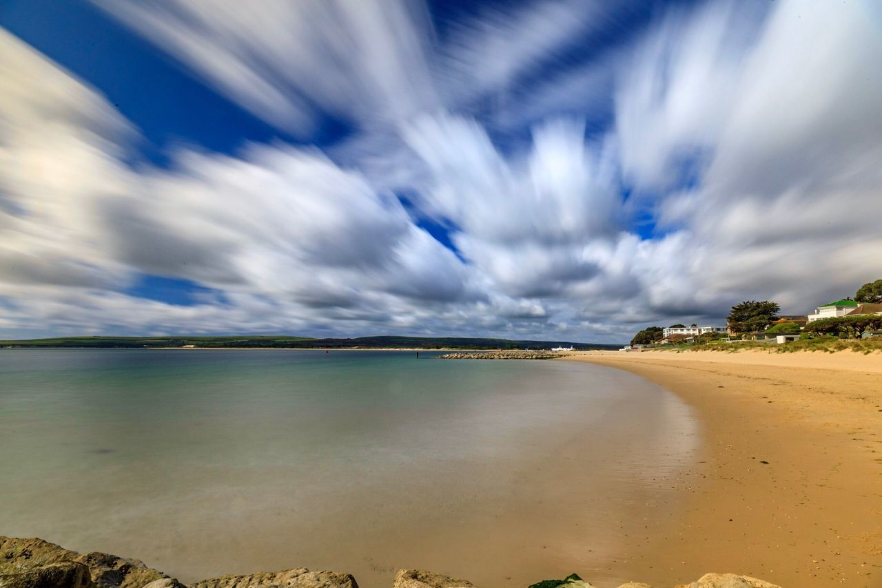 Sea Sky Beach Scenics Cloud - Sky Tranquil Scene Beauty In Nature Tranquility Water Nature Sand Horizon Over Water Outdoors Day No People Landscape
